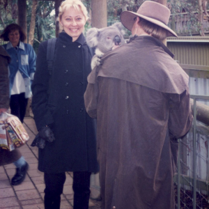 Il mio amico australiano preferito: il Koala (peccato che fosse un timidone) (Australia, Congresso mondiale di psicofarmacologia, CINP, 23-27  giugno 1996)