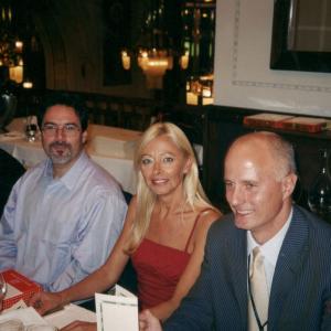 Praga - Con Eric Hollander, Stefano Pallanti, dan Stein al 16o congresso dell'European College of Neuropharmacology (Praga, Repubblica ceca, 20-24 settembre, 2003)