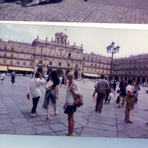 Portogallo 1996 -  In giro per Spagna e Portogallo con il dr. La Pia e sua moglie, dopo relazioni a XXVII Congresso della Società Internazionale di Psicoendocrinologia (Cascais, Portogallo, 18-22 agosto, 1996)  e al X Congresso Mondiale di Psichiatria (Madrid, Spagna, 23-28 agosto, 1996) con relazione