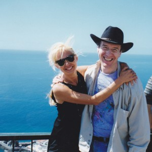 Donatella Marazziti e David Goldman a Madeira. III IOCD C conference, Madeira 1998