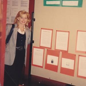 Ottobre 1993: presentazione poster al V ECNP, Budapest