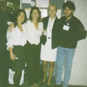 Congresso SOPSI Firenze, 1997. Con Alessandra Rossi, Lionella Palego e Silvio Presta.
