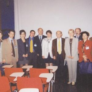 Foto di gruppo al Congresso GIDOC, Saint Vincent 1998.