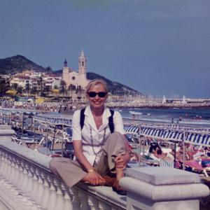 Riposo dopo la relazione alla I Conferenza mondiale sul disturbo ossessivo-compulsivo (Barcellona, Spagna, 22/25 giugno, 1995)