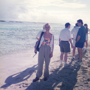"""Guadalupe -  La barriera corallina di Guadalupe con gli amici """"ossessivologi"""". II Conferenza Internazionale sul disturbo ossessivo-compulsivo (Guadalupe, 16-17 febbraio, 1996)"""