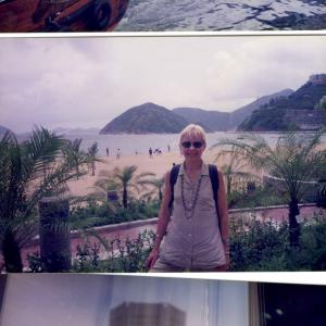 Piacevole sosta  di due giorni  a Hong Kong, uno dei posti più belli del mondo sulla rotta dell' Australia (giugno 1996)
