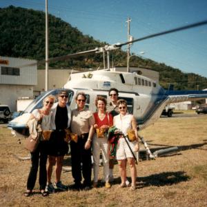 Madeira -  Foto insieme a Eric Hollander, Stefano Pallanti, Tres Renard, Chantal Vekens Relazioni alla III IOCD conference (Madeira, Portogallo, 11-13 settembre, 1998), di cui ho fatto parte della segreteria scientifica