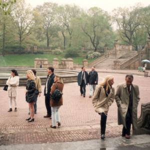 USA - A New York col Prof. Paolo Castrogiovanni (Congresso APA, 1995). Sullo sfondo i colleghi Giulio Perugi, Elisa Simonini, Cristina Toni, Mauro Mauri