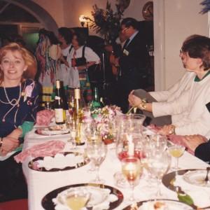 Congresso Mondiale sul Disturbo Ossessivo Compulsivo, Capri 1993. Con Joseph Zohar